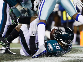 Eagles' 10-play drive ends with strong Miles Sanders TD run