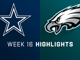 Cowboys vs. Eagles highlights | Week 16