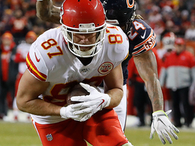 Travis Kelce becomes fastest TE to 500 catches in NFL history
