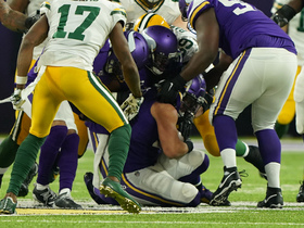 Eric Kendricks secures fumble No. 2 after Harrison Smith jars ball free