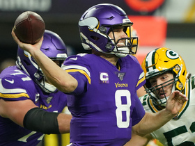 Cousins' fourth-down heave sails over Thielen's head incomplete