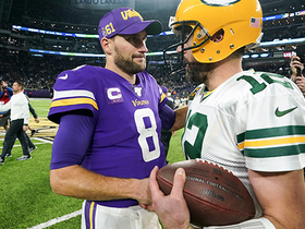 Packers secure NFC North crown on Cousins' fourth-down incompletion
