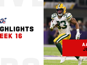 Aaron Jones' best runs from 154-yard night | Week 16