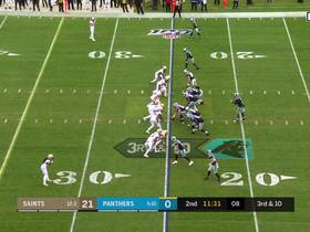 Cam Jordan cleans up Will Grier for sack after Saints' relentless pressure