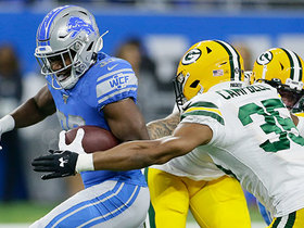 Kerryon Johnson caps Lions' 83-yard drive with physical TD run