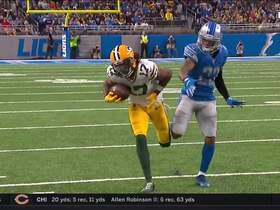 Rodgers hits Davante Adams in stride for 33-yard reception