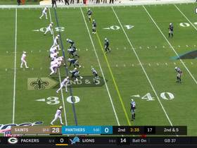 Tre'Quan Smith turns on jets to take Brees' improvisational dump-off 32 yards