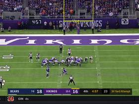 Dan Bailey hits 34-yard FG to give Vikings the lead