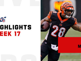 Joe Mixon's best runs from 162-yard day | Week 17