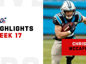 Every catch from Christian McCaffrey's milestone day | Week 17