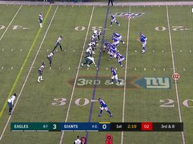 Brandon Graham loops around for thunderous third-down sack