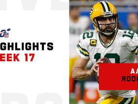 Aaron Rodgers' best throws from 323-yard game | Week 17