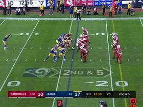 Tyler Higbee gashes Cards' D with double move for 22-yard catch and run