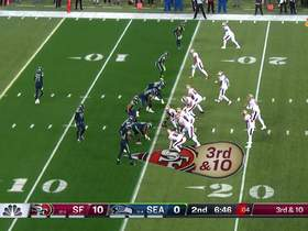 Marquise Blair's booming hit forces a fourth down for 49ers