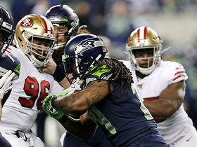 49ers STUFF Marshawn Lynch on fourth-and-inches