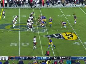 Goff finds Gurley for 23-yard catch and run